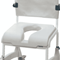 Aquatec Commode Seat - Ergonomic Hygiene Recess Seat
