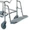K Care Commode Extendable Footplate