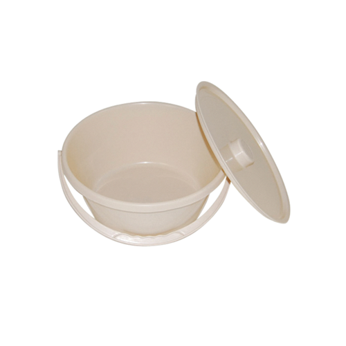 Bowl with Handle & Lid