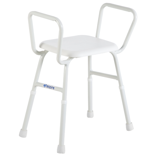 Aspire Shower Stool with Padded Seat