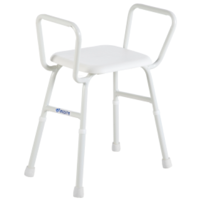 Aspire Shower Stool With Padded Seat Aidacare