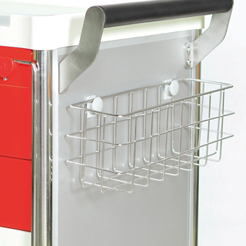 Ward Cart - S/Steel Wire Basket