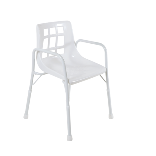Shower Chair with Arms - 470mm width