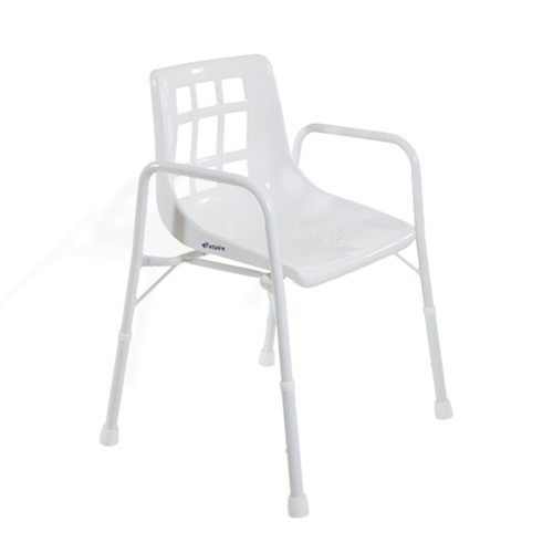 Shower Chair with Arms - 525mm width (200kg)