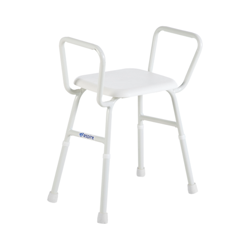 Shower Stool with Arms - 495mm width