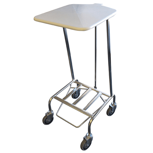 Linen Skip (Foot Operated Lid) - Stainless Steel