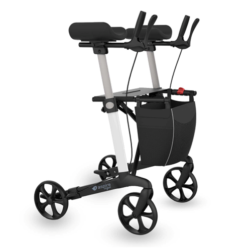 Aspire Vogue Forearm Seat Walker / Rollator