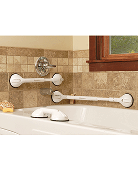 Suction Grab Bars Commercial Grade Suction Handrails For Showers