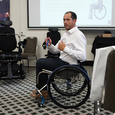 APT: Aidacare Professional Training with Permobil, Brisbane