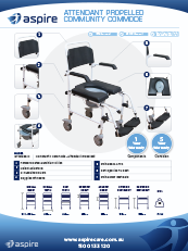 Aspire Community Commode Flyer