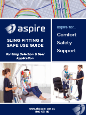 Aspire Sling Fitting & Safe Use Guide Brochure