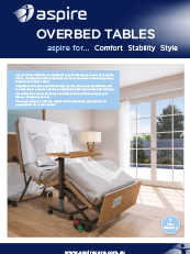 Aspire Overbed Table Brochures