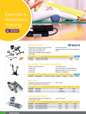 Exercise, Resistance & Physiotherapy