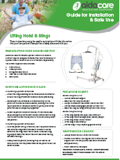 Safe Use Guide - Hoist and Slings