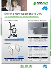 DVA Additions Grab Rails & Wall Mounted Products