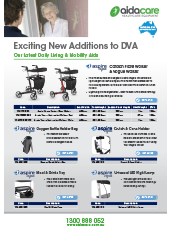 DVA Additions Mobility & Daily Living Aids