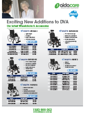 DVA Additions - Wheelchairs & Scooters